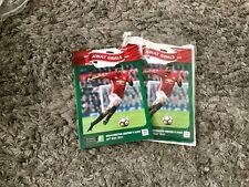 Manchester United v Ajax. May 2017. Europa League Final. Match Programme. Mint!!