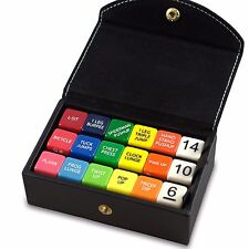 Fitness Dice Box Set by Stack 52.  Bodyweight Exercise Workout Game
