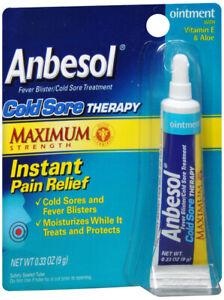 Anbesol Puissance Maximum Froid Douleur Thérapie 0.25 Oz