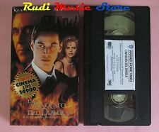 film VHS cartonata L'AVVOCATO DEL DIAVOLO K. Reeves Al. Pacino 1997 (F38) no dvd