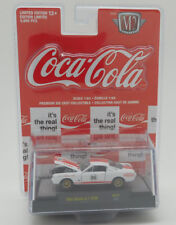 M68 52500 RC01 M2 MACHINES 1965 SHELBY GT 350R FORD MUSTANG COCA COLA 1:64 COKE