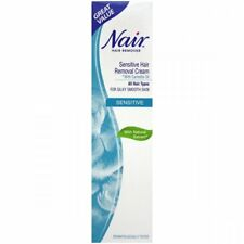 NAIR SENSITIVE HAIR REMOVAL CREAM WITH CAMELLIA OIL 80ML
