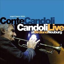 NEW SEALED Candoli Live by Conte Candoli (CD, 2002, Nagel Heyer Records) JZ1317