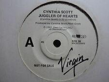 "Cynthia Scott ""Juggler Of Hearts"" Rare Oz PROMO 7"""
