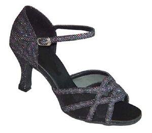 Ladies Dance Shoes Salsa Line Latin Ballroom UK 3 - 8