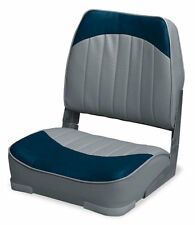 Wise Seating Low Back Boat Seat- Gray/Navy