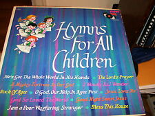 HYMNS FOR ALL CHILDREN-LP-NM