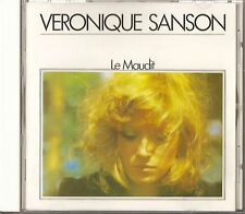 "VERONIQUE SANSON ""LE MAUDIT"" FRENCH POP STEINER STILLS KUNKEL CD ALBUM JAPAN"