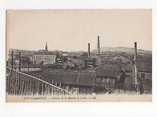 France, Saint Chamond, Acieries de la Marine et Izieu LL Postcard, A517