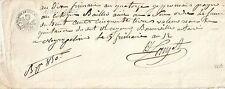 PAPIER ANCIEN PARCHEMIN - PROMESSE DE PAIEMENT - CESSION DE CREANCES - 1805