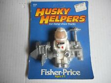1984 Fisher Price Husky Helpers The Astronaut Mint On Card