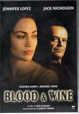 BLOOD & WINE - DVD (USATO EX RENTAL) JACK NICHOLSON