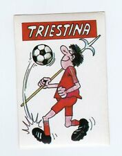 figurina CALCIO FLASH 1988 SCUDETTO TRIESTINA