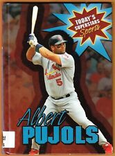 ALBERT PUJOLS 2006 book Geoffrey Horn ST.LOUIS CARDINALS Today's Superstars