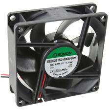 EE80251S2-1000U-999 Axial-Lüfter 80x80x25mm 12V= 62,84m³/h von Sunon