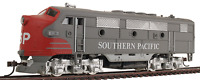 HO SOUTHERN  PACIFIC R.R. LOCO  F-2 A SP  ALL WHEEL DRIVE SOUTHERN PACIFIC