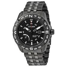 Citizen PRT Dark Grey Dial Mens Compass Watch AW7047-54H