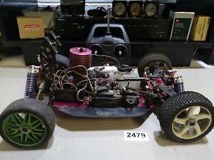 Thunder Tiger Eb4 rc radio controlled car - spares or repair #2479