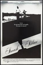 SMASH PALACE 27x41 Original Movie Poster One Sheet ROLLED MYLAR Roger Donaldson