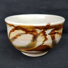 "CHOSIN Canada Art Pottery Small Bowl, Chosin Stamped, Robin Hopper, 2.5"" x 4"""
