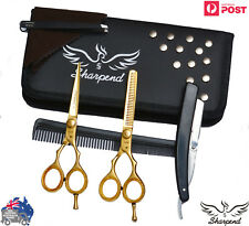 Professional Hair Cutting Japanese Scissors Barber Stylist Salon Shears 5.5 GOLD