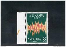 ANDORRA 1972 ** GOMMA INTEGRA