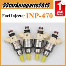4pcs Fuel Injector INP-470 15710-58B00 for Suzuki 92-94 Sidekick X-90 96-98 1.6L
