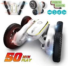Remote Control RC Cars 4WD 2.4GHz Stunt Car Double Sided 360 Flips Toys for Kids