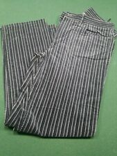 Jones New York Sport Stretch Pin Stripe Velvet Pants 8P