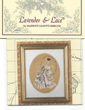 """COMPLETE CROSS STITCH MATERIALS - """"THE  BRIDE LL9"""" BY Lavender and Lace"""