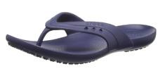Women's CROCS Kadee Flip Sandals Navy Blue vegan