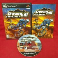 Downhill Domination  -  Playstation 2 PS2 Game Complete Tested + Working