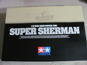 New 1/16 Tamiya R/C M-51 Super Sherman 4 channel Full Option Tank w/ DMD Unit