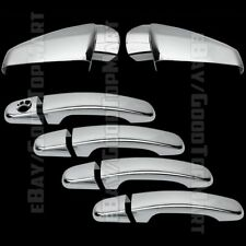For GMC TERRAIN 2010-2012 2013 2014 2015 Chrome Covers Set Mirrors+4 Doors w/out