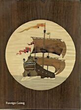 Foreign Going Marquetry Craft Kit: Large Marquetry Picture Kit 330x238mm