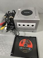 Nintendo GameCube DOL-101 Console- Super Smash Bros. Melee-Cables Tested & Works