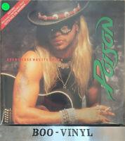 "Poison Every Rose Has It's Thorn - Gatefold 12"" vinyl single record Vg+ Con"