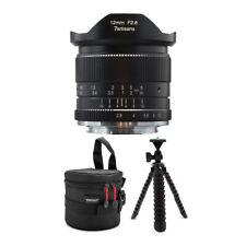 7artisans 12mm f/2.8 Manual Lens for Sony E-Mount Cameras (Black) Bundle