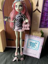 Rochelle Goyle-Ghouls Night Out-Monster High Muñeco Completo Con Diario