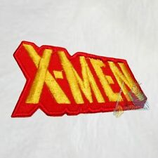 X-men Word Logo Embroidered Patch Marvel Comics 90's Magneto Wolverine Xavier