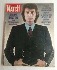 N31 Magazine Paris-Match N°1129 26 décembre 1970 Johnny Hallyday, Alain Delon