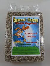 Aktion Sahawa®4x 40 Liter Baumwolle, Einstreu,Vorteilspack