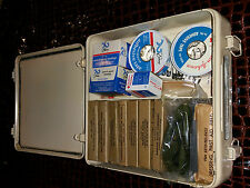 US Military First Aid Kit DSA 2-10316 Rois MFG Full Of Items only for collecting