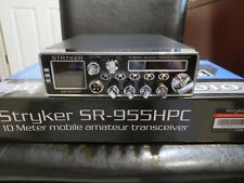 STRYKER SR-955HPC 65+ WATTS 10 METER COMPLETLTY STOCK. (SHIPPED OF ILLINOIS)