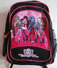 BRAND NEW MONSTER HIGH GIRLS BACKPACK SCHOOLBAG - LARGE