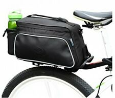 Roswheel Texture Series Cycling Bicycle Bike Pannier Rear Seat Bag Rack Trunk -