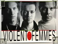 Violent Femmes Why Do Birds Sing? 1991 Us Promo Only Poster American Music Vg+