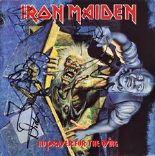 IRON MAIDEN No Prayer for the Dying FULLY SIGNED Vinyl Bruce Dickinson AUTOGRAPH