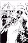 Redneck #1 (black & white virgin) Image 25th Anniversary