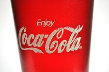 Schönes Coca-Cola USA Glas 15cm Becher Rot Restaurant Style Hard Plastic Tumbler